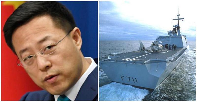 Phát ngôn viên Bộ Ngoại giao Trung Quốc Triệu Lập Kiên kiên quyết phản đối Pháp bán vũ khí cho Đài Loan