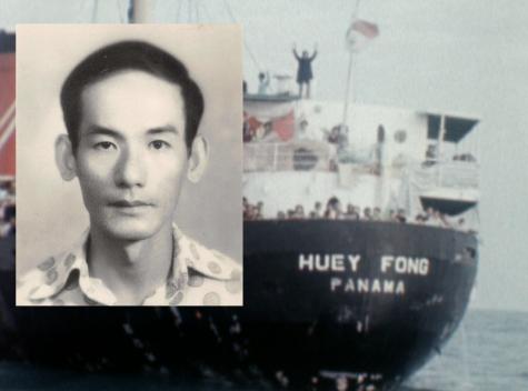 Con tàu Huey Fong Panama từng cứu vớt ông