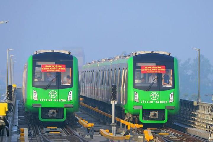 Dự án đường sắt Cát Linh – Hà Đông đã liên tục đội vốn, lỡ hẹn gần 10 lần. (Ảnh qua vtc)