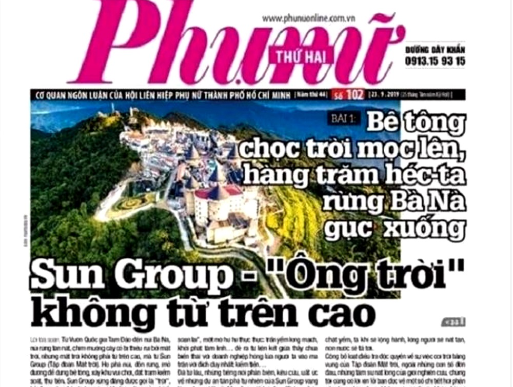 Báo Phụ nữ TP HCM bị Cục báo chí phạt đình bản 1 tháng - Ảnh 1