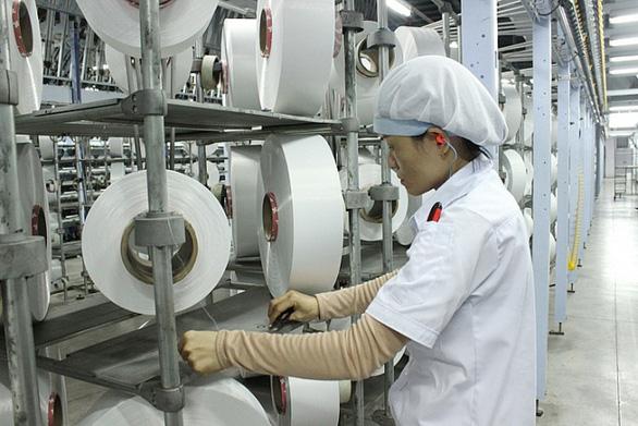 Nhà máy xơ sợi Đình Vũ đã hoạt động trở lại. (Ảnh qua tuoitre)