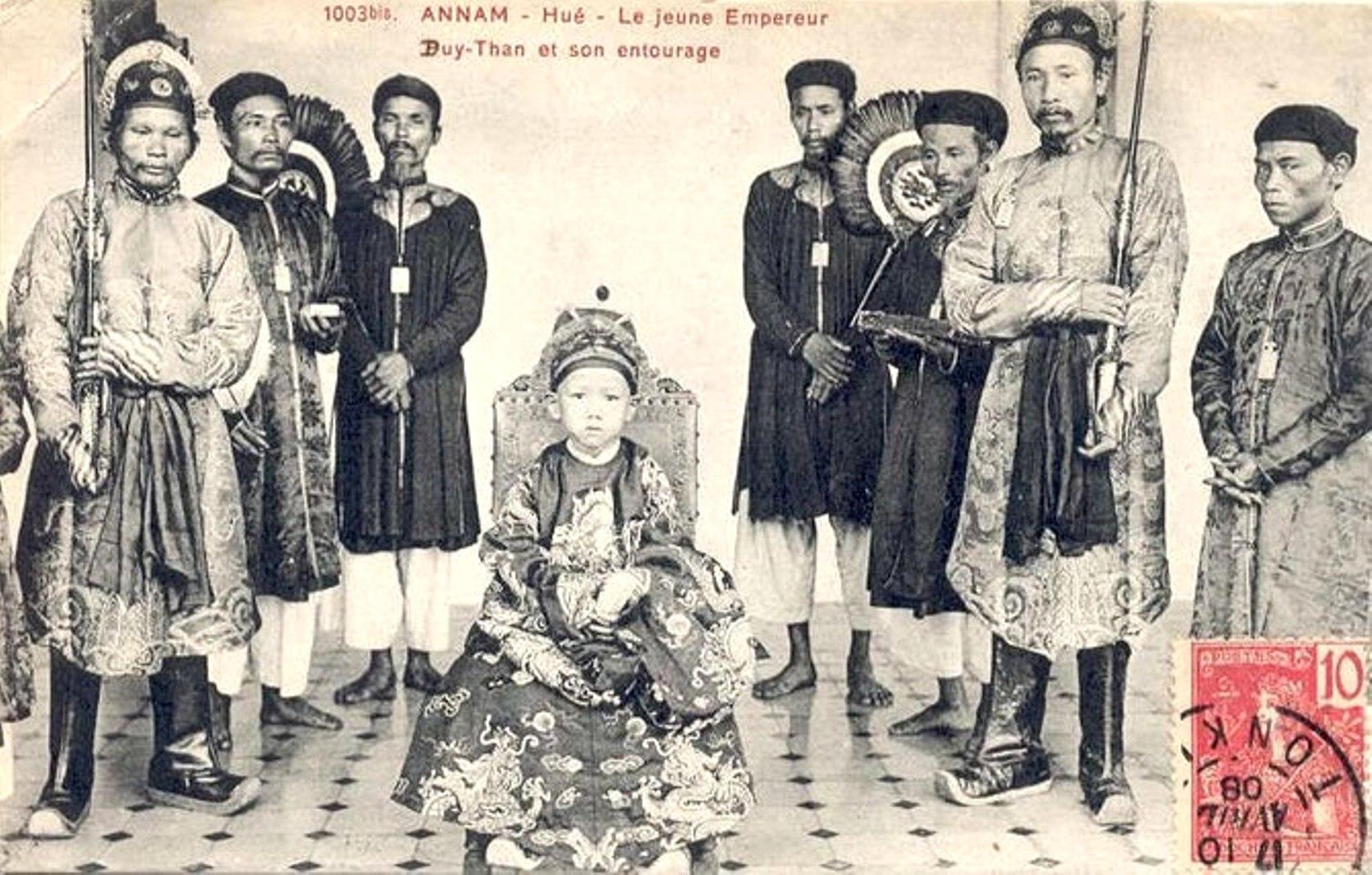 Những năm tháng lưu đày và cái chết của cựu hoàng Duy Tân - Ảnh 1