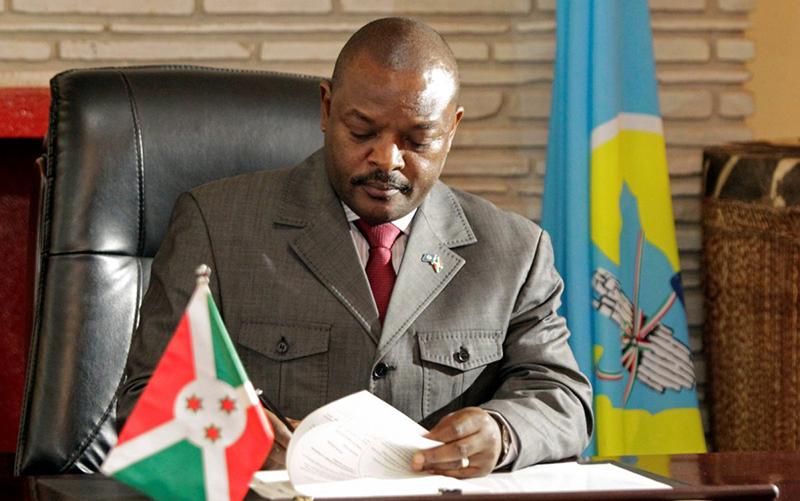 Chính phủ Burundi mới đây thông báo rằng Tổng thống Pierre Nkurunziza đã đột tử tại một bệnh viện nhưng không nêu rõ nguyên nhân