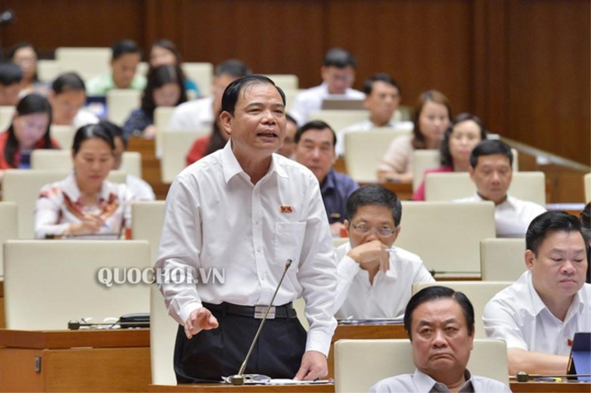 Bộ trưởng Bộ Nông nghiệp và phát triển nông thôn Nguyễn Xuân Cường. (Ảnh qua quochoi)
