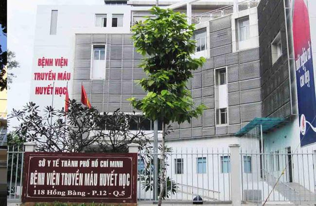 Bệnh viện Truyền máu huyết học TP.HCM. (Ảnh qua danviet)