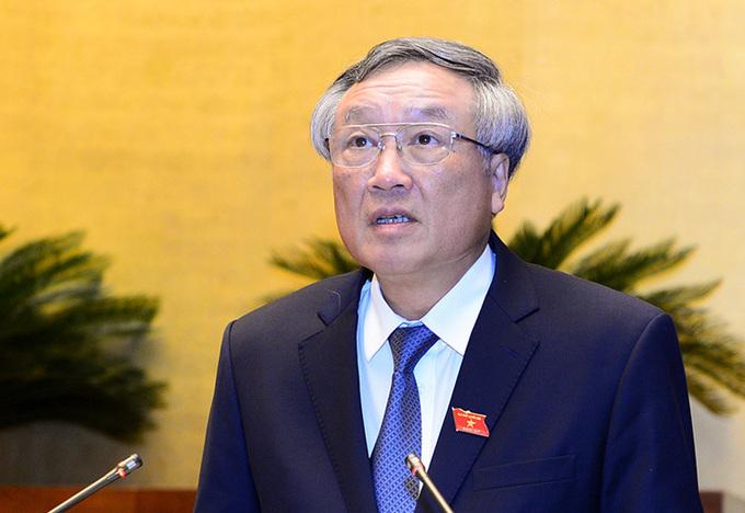 Chánh án TAND tối cao Nguyễn Hoà Bình. (Ảnh qua vnexpress)