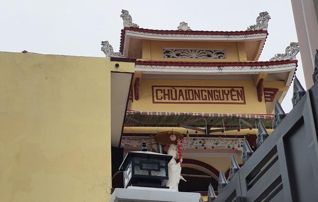Chùa Long Nguyên (quận 4), nơi xảy ra vụ việc.