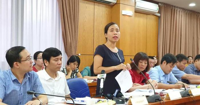 Bà Đặng Kim Hoa. (Ảnh: toquoc)