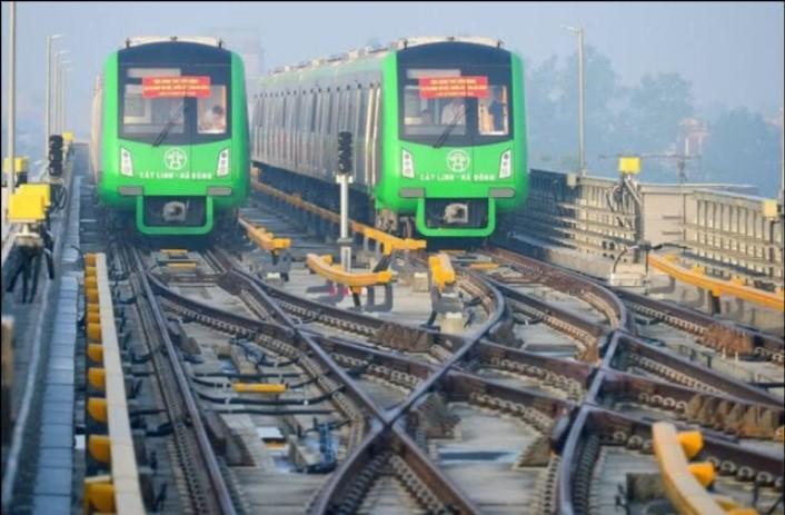 Đường sắt Cát Linh Hà Đông không hẹn ngày vận hành. (Ảnh qua dantri)