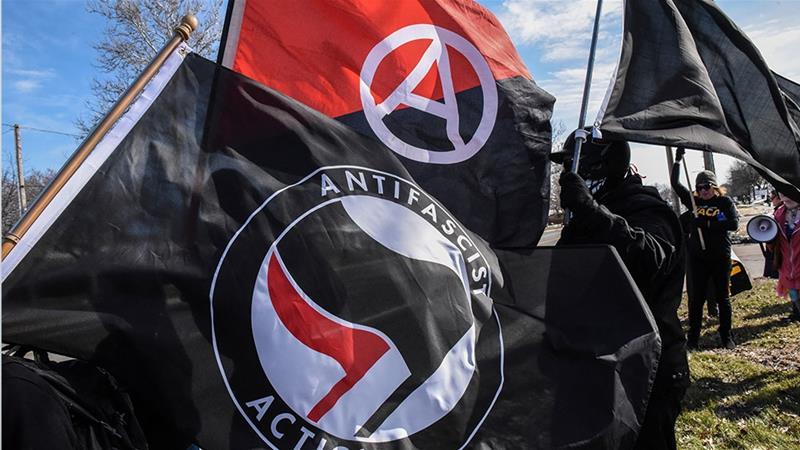 """Cuộc bạo loạn này là một chiến dịch đảo loạn Mỹ có tổ chức của """"ANTIFA""""."""
