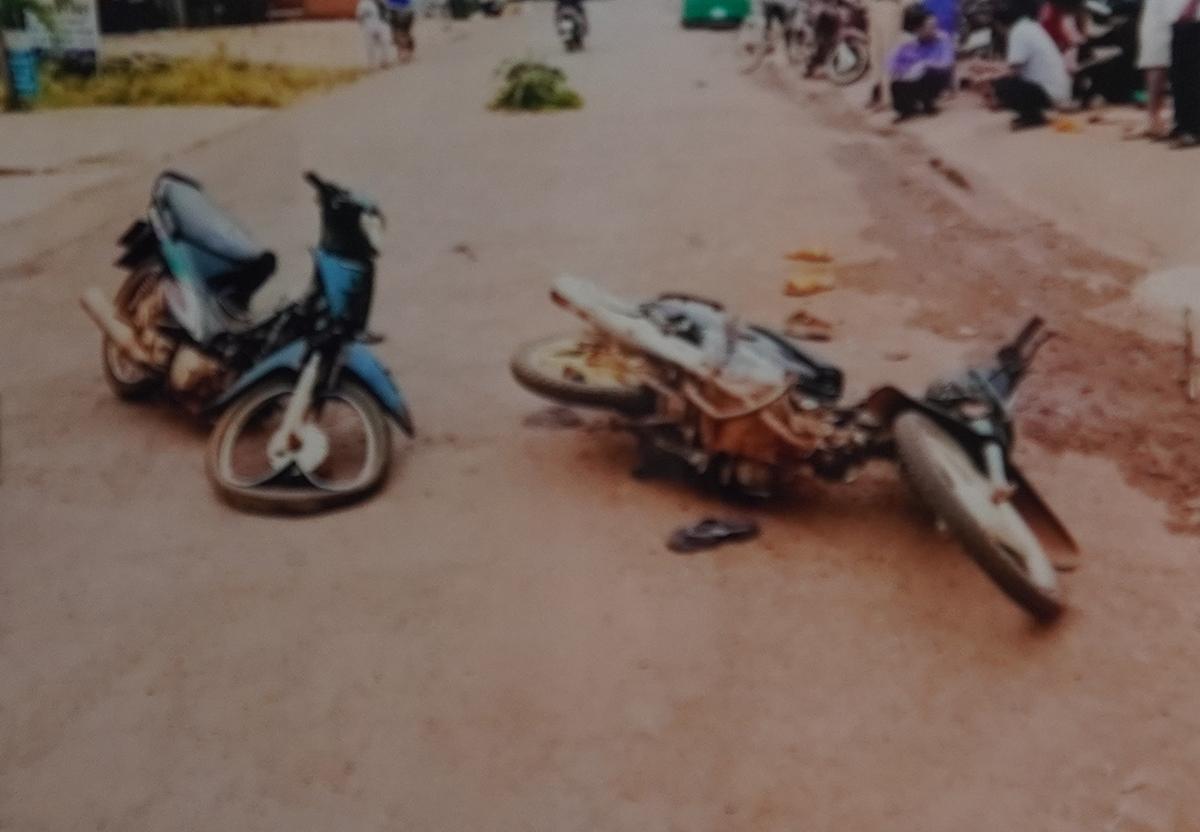 Hiện trường vụ tai nạn giao thông ngày 15/1/2017. (Ảnh qua Vnexpress)