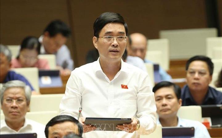 Đại biểu Quốc hội Hoàng Quang Hàm (Phú Thọ) cho rằng điều tiết giá cả không thể bằng mệnh lệnh hành chính. (Ảnh qua ttxvn)