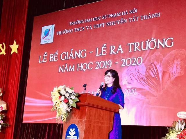 THCS - THPT Nguyễn Tất Thành (Hà Nội) tổ chức Lễ bế giảng, kết thúc năm học vào ngày 5/6. (Ảnh qua dantri)