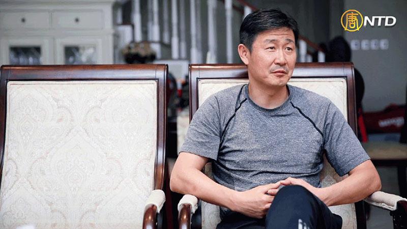 Cựu ngôi sao bóng đá Hác Hải Đông (Hao Haidong).