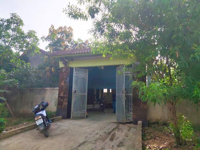 Ngôi nhà của gia đình bà Nguyễn Thị Đức thuộc diện hộ nghèo, cận nghèo. (Ảnh qua tienphong)