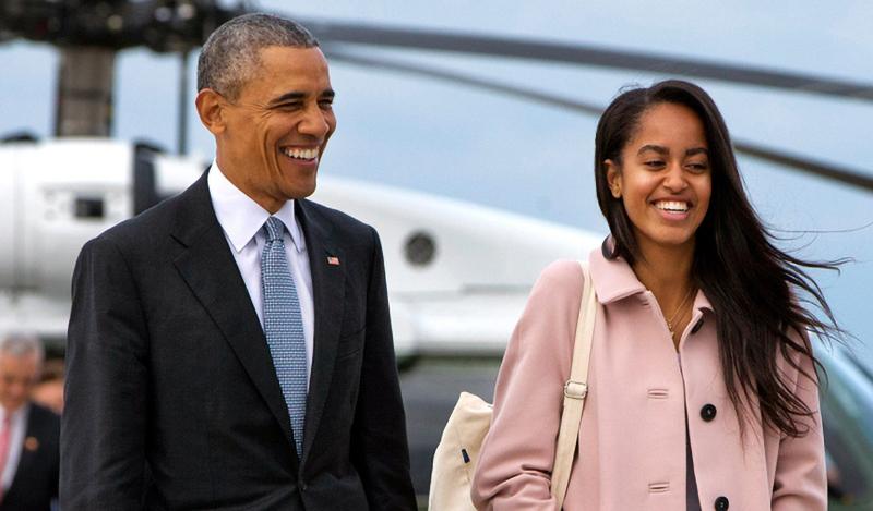 Malia, con gái lớn của Obama.