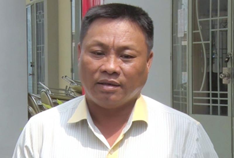 Ông Nguyễn Văn Minh bị cách chức Chủ tịch UBND phường Hóa An. (Ảnh qua nld)