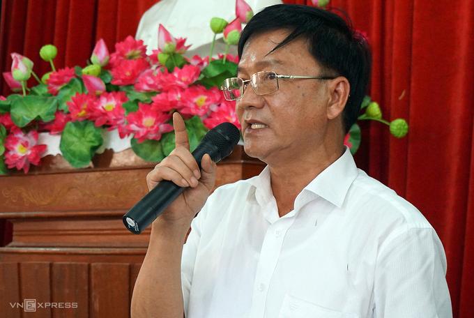 Chủ tịch UBND tỉnh Quảng Ngãi Trần Ngọc Căng. (Ảnh qua vnexpress)