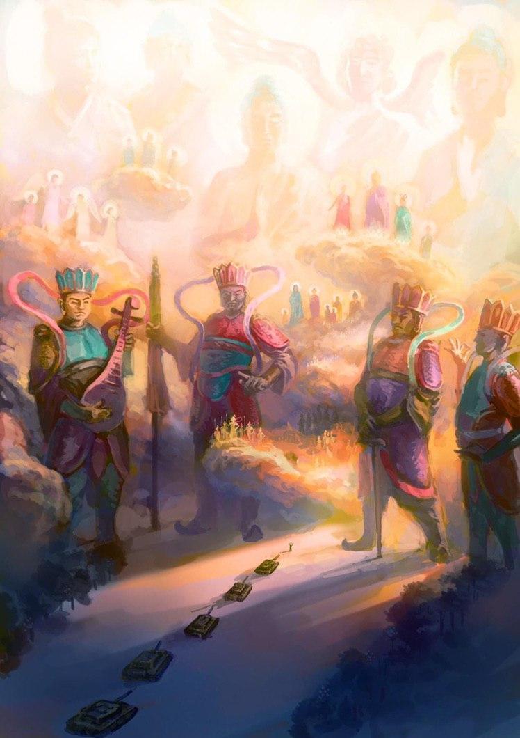 Thần Thoại Lục Tứ sống dậy dưới bàn tay nghệ sĩ Việt - Ảnh 1