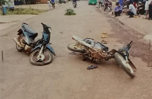 Hiện trường vụ tai nạn giao thông. (Ảnh qua tuoitre)