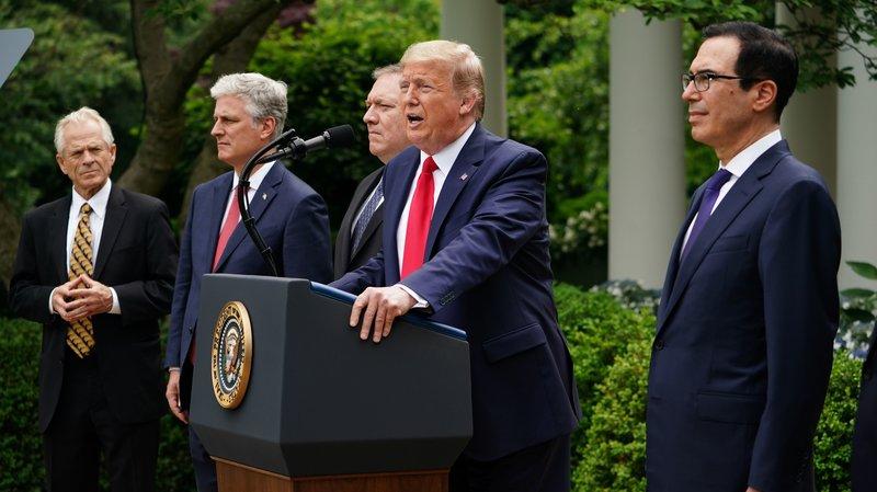 Tổng thống Mỹ Donald Trump có các phát ngôn mang tính bước ngoặt, định hình lại quan hệ với Trung Quốc và Tổ chức Y tế Thế giới WHO.