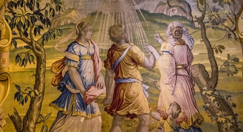 Những câu chuyện lạ về UFO trong tranh cổ và Thần tích trên chiến trường phương Tây