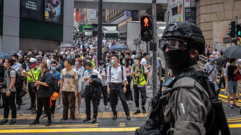 Chính quyền Mỹ hiện vẫn chưa rút lại đặc quyền dành cho Hồng Kông