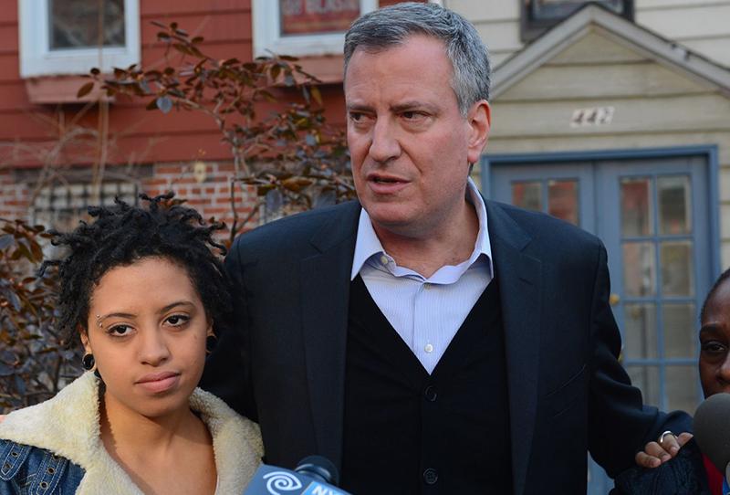 Chiara - Con gái của thị trưởng New York. (Ảnh qua Nydailynews)