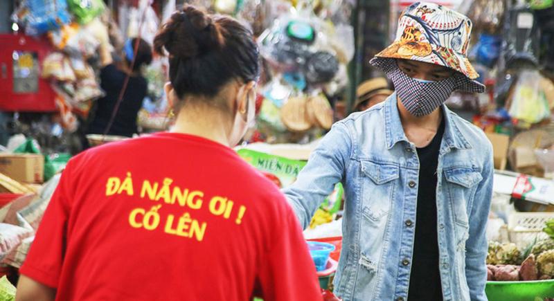 Từ ngày 12/8, mỗi tuần người dân Đà Nẵng chỉ được đi chợ 2-3 lần.