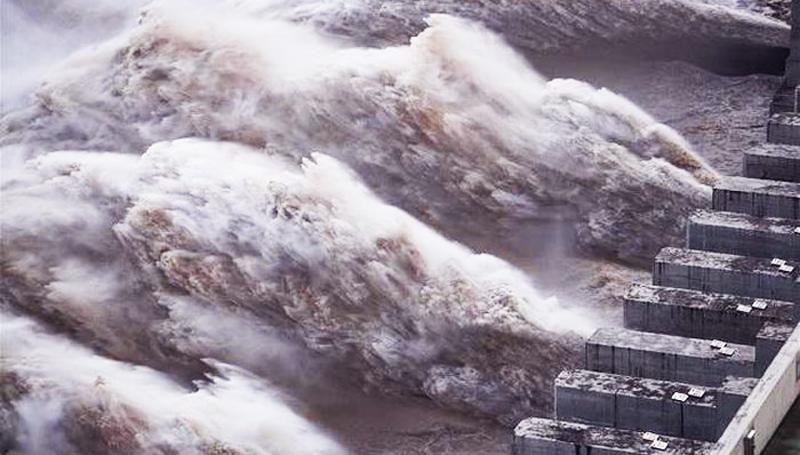 Đập Tam Hiệp xả nước ở mức kỷ lục