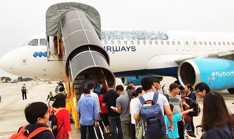 Hãng hàng không trong nước hiện vẫn chỉ phục vụ các chuyến bay nội địa.