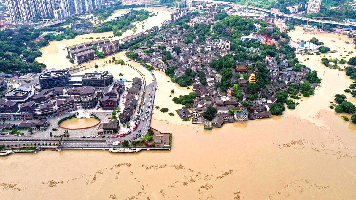Tê giác trấn thủy 2000 năm tuổi bị đào lên khiến Tứ Xuyên liên tục phải hứng chịu lũ lụt? (ảnh 1)