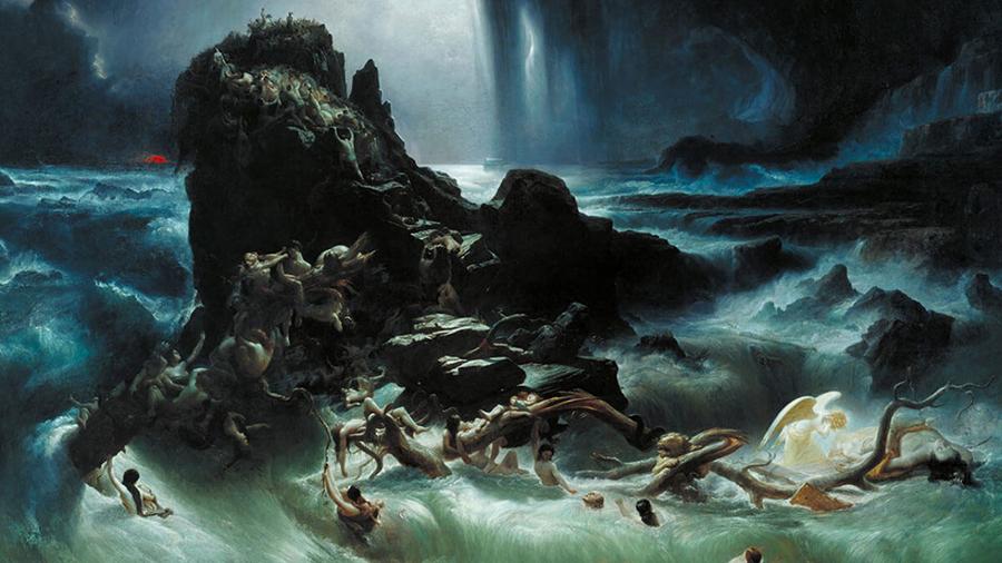 6 dấu tích cho thấy từng xảy ra trận Đại Hồng Thủy trên toàn cầu