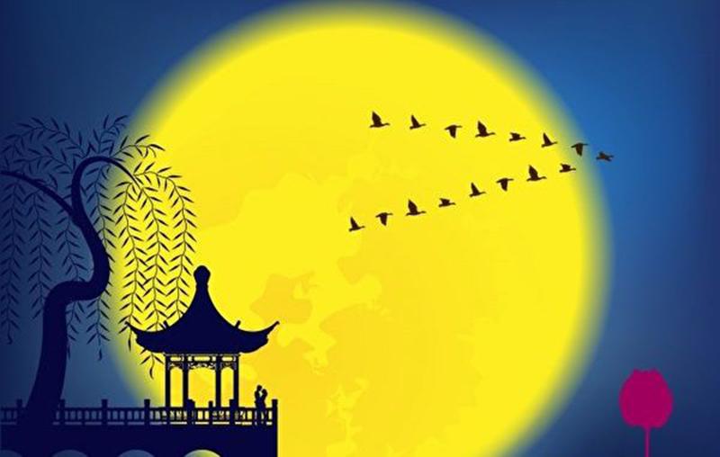 Đêm trung thu ngắm trăng, ngâm thơ, hòa cùng vạn vật  (ảnh 2)
