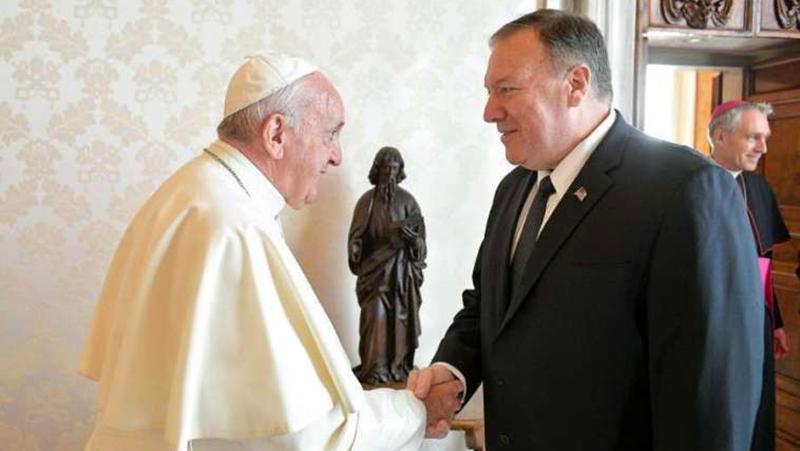 Thỏa thuận Trung Quốc-Vatican: Giáo hoàng từ chối gặp Mike Pompeo và Giám mục Hồng Kông (ảnh 1)