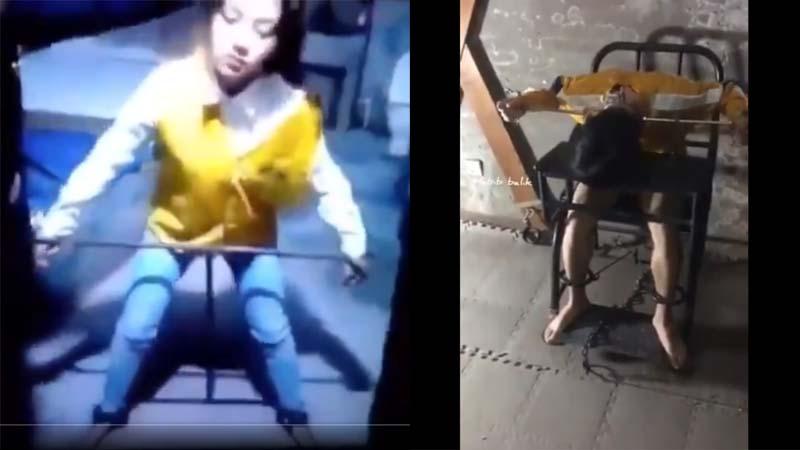 Video: Thiết bị tra tấn của nhà tù Trung Quốc khiến cư dân mạng khiếp sợ (ảnh 1)