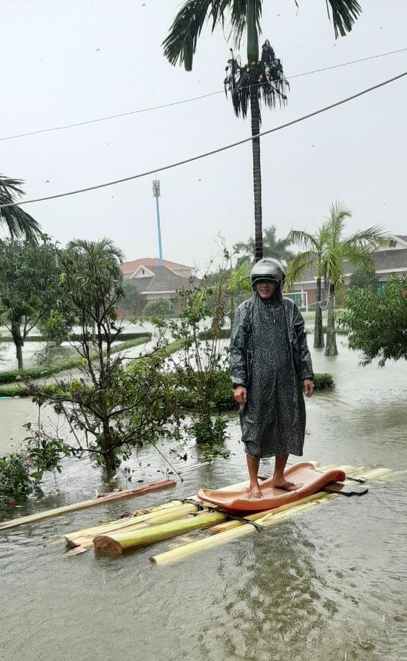 Làng trẻ SOS miền Trung ảnh hưởng nặng bởi lũ lụt
