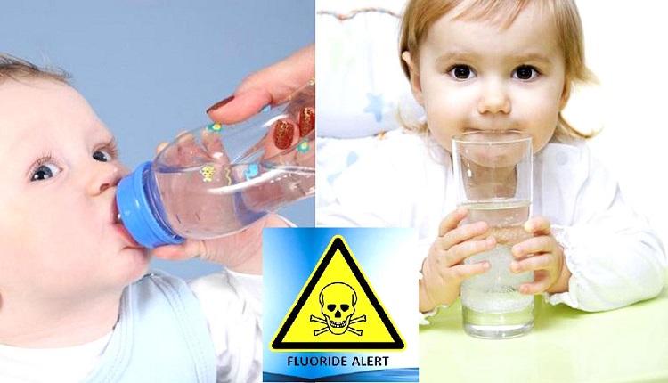 Florua có mặt trong toàn bộ các nguồn cung nước đối với trẻ em là một mố nguy hại