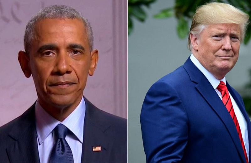 Barack Obama trực tiếp vận động cho Joe Biden, chỉ trích Donald Trump yếu bóng vía