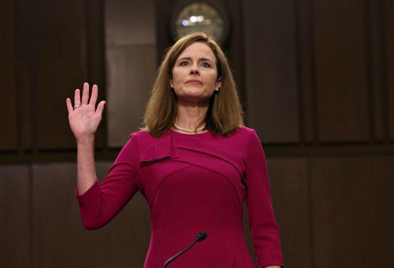 Ủy ban Tư pháp Thượng viện Mỹ mới đây đã thông qua đề cử bà Amy Coney Barret vào vị trí thẩm phán Tòa án Tối cao, với tỷ lệ ủng hộ 12/0