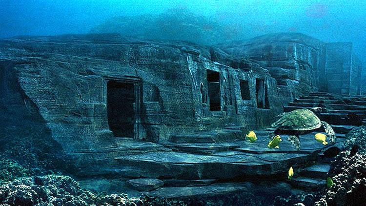 Các nhà khoa học phát hiện không ít các công trình hoàng tráng dưới đại dương