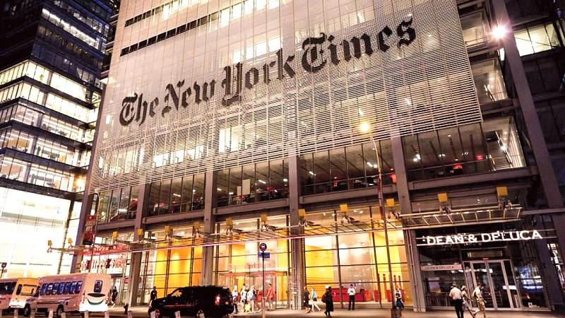 """Nội dung của phiên bản tiếng Trung của New York Times, có rất nhiều điểm tương đồng với tờ """"Nhân dân Nhật báo"""" của ĐCSTQ"""