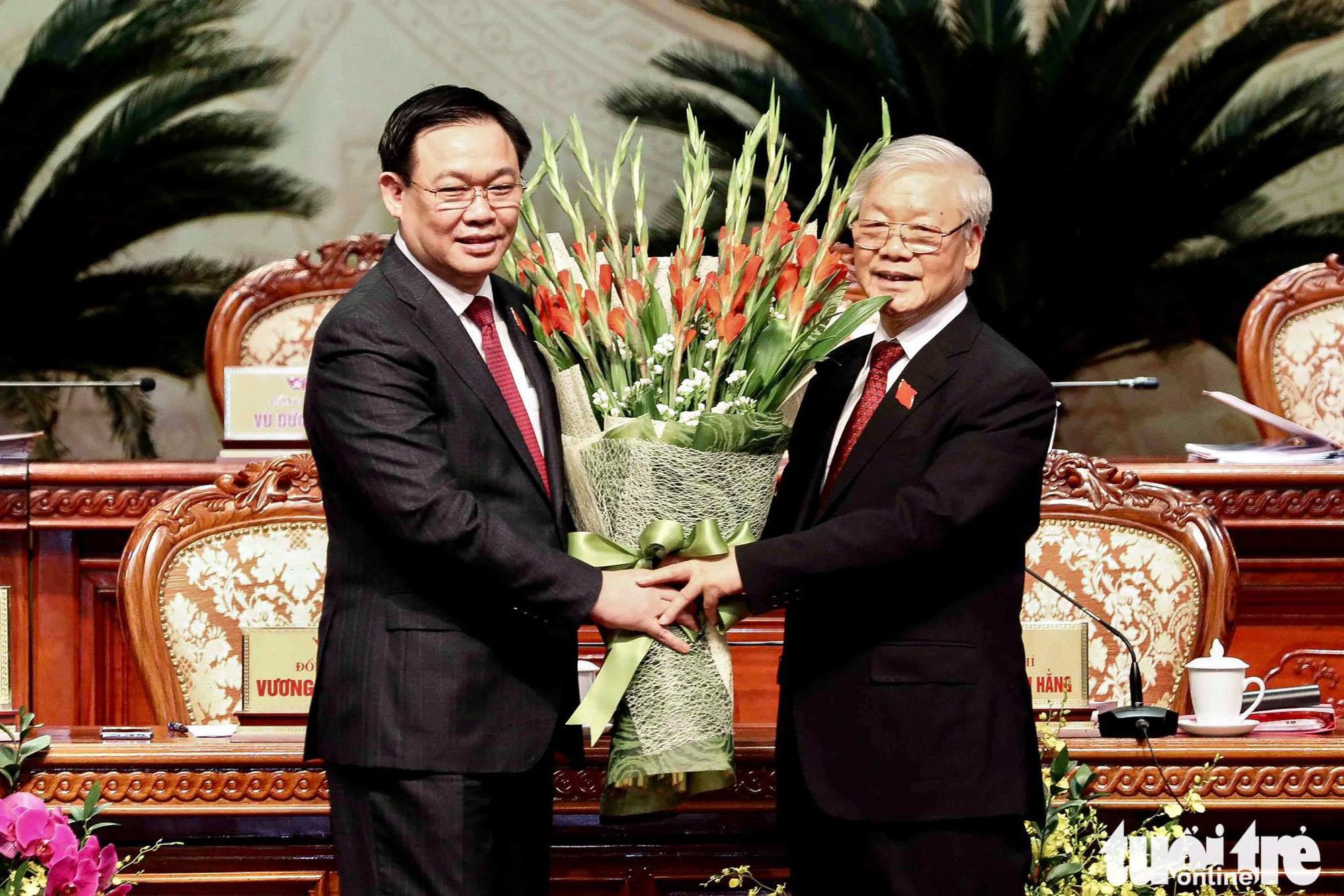 Ông Vương Đình Huệ tái đắc cử chức Bí thư Hà Nội, nắm chắc vị trí trong Bộ Chính trị