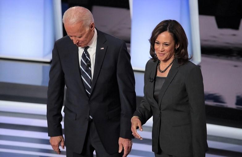 Cựu Phó Tổng thống Joe Biden và Thượng nghị sĩ Kamala Harris