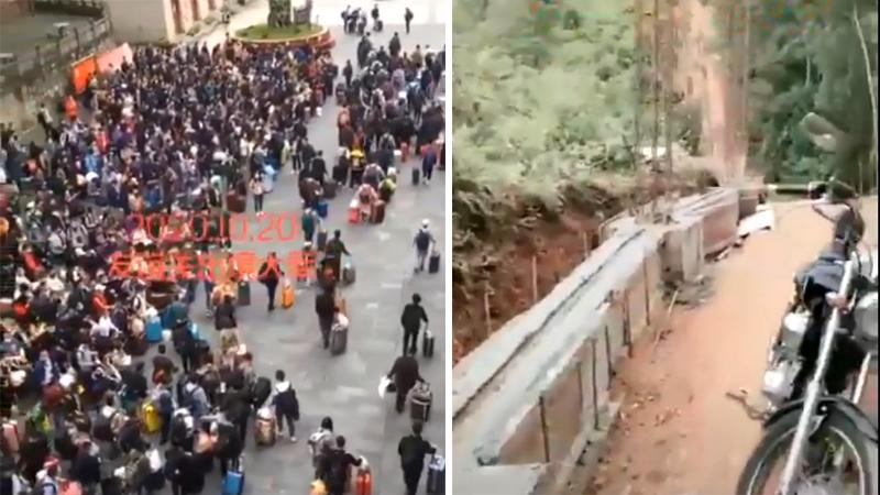 Video: 900 kỹ thuật viên nhập cảnh Việt Nam trong một ngày, TQ vội vàng xây tường bao biên giới?