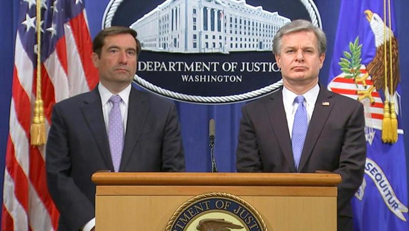 """FBI bắt giữ 5 người, Bộ Tư pháp Mỹ vạch trần """"hành động săn cáo"""" của ĐCSTQ (ảnh 1)"""