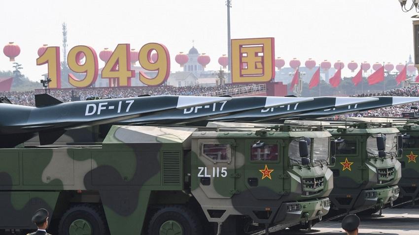 Trung Quốc triển khai tên lửa siêu thanh mới đến gần Đài Loan