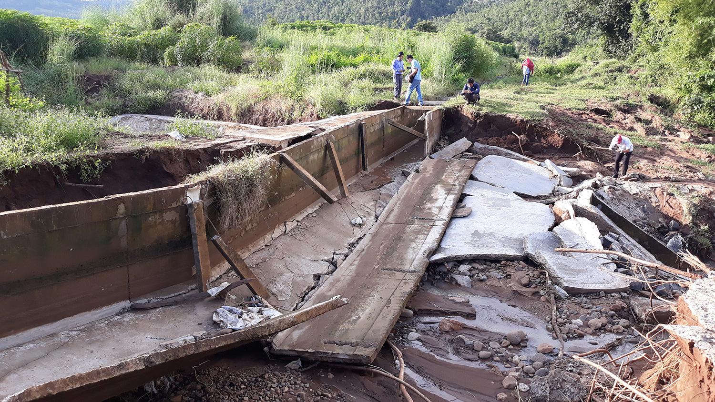 Gia Lai: Công trình thủy lợi 100 tỷ chưa bàn giao đã hư hỏng nặng bởi áp thấp nhiệt đới - Ảnh 1