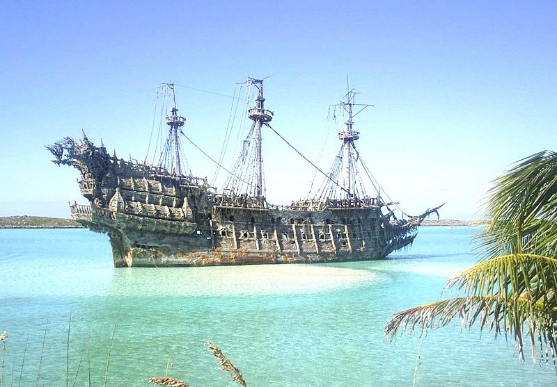 Mô hình phác họa con tàu ma qua lời kể của một số nhân chứng