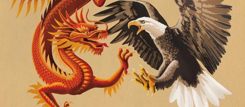 """""""Có một con mãnh thú ở phương Đông đang cố gắng vươn lên, nó cho rằng nó mạnh mẽ và bất khả chiến bại, nhưng ta cũng có một con thần thú ở phương Tây có uy lực thần kỳ, sẽ tiêu diệt gọn con mãnh thú này""""."""